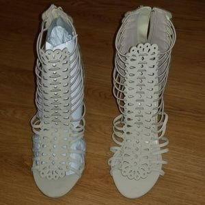 Nude/Cream Colored Heels